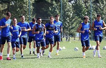 Trabzonspor Gaziantep FK maçı hazırlıklarına...