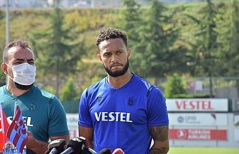 Trabzonspor'un orta alan oyuncusu Lewis Baker: