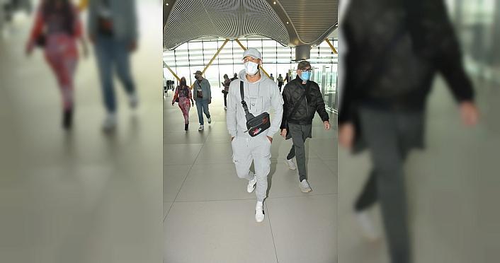 Trabzonspor'un transfer gündeminde yer alan Lewis Baker, İstanbul'a geldi