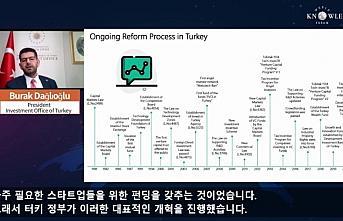 Yatırım Ofisi Başkanı Dağlıoğlu Koreli yatırımcıları Türkiye'ye davet etti