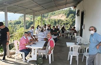 Zonguldak'ta 300 ton kestane balı üretildi