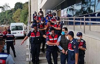 Zonguldak'ta kablo hırsızlığından gözaltına...