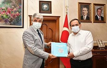 AA'dan Samsun Büyükşehir Belediye Başkanı Demir'e ziyaret