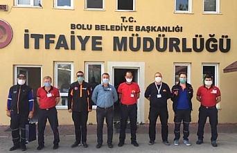 AFAD İl Müdürü Cengiz Çavuş'tan İtfaiye Merkezi'ne ziyaret
