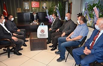 AK Parti Ereğli İlçe Başkanlığı'na ziyaret