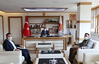AK Parti İl Gençlik Kolları Başkanı Yılmaz'dan Başkan Özdemir'e ziyaret