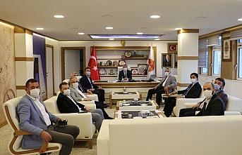 AK Parti Samsun İl Başkanı Aksu'dan Havza'ya ziyaret