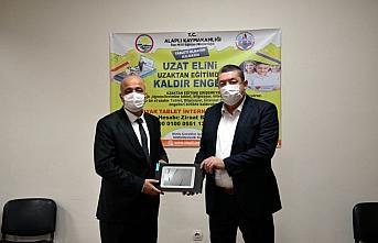 Alaplı Belediyesinden tablet kampanyasına destek