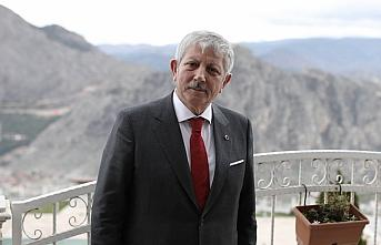Amasya'dan Azerbaycan'a bayraklı destek