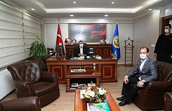 Artvin Valisi Doruk, Orman Bölge Müdürlüğünü ziyaret etti
