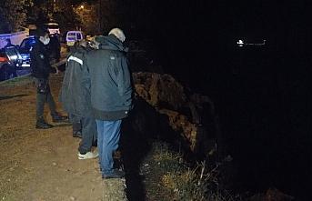 Balık tutarken denize düşen kişi kayboldu