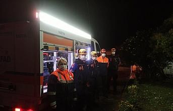 Bartın'dan deprem bölgesine arama kurtarma ekibi...