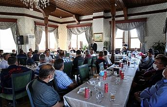 Belediye Başkanı Eroğlu itfaiyecilerle bir araya geldi