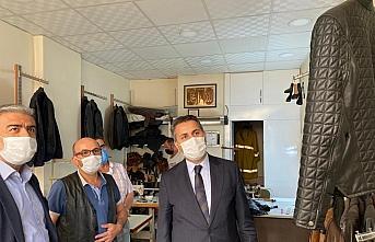 Belediye Başkanı Eroğlu'ndan esnaf ziyareti