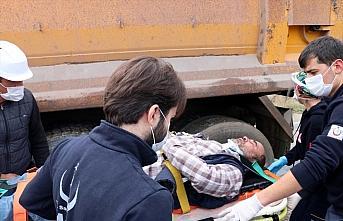 Bolu'da iki kamyon çarpıştı: 2 yaralı