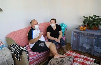 Çalışırken yaralanan Gürcistanlı, yardımseverler sayesinde sağlığına kavuştu