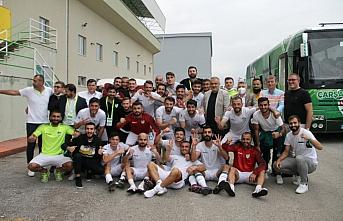 Çarşambaspor, sahasında Cizrespor'u 3-0 yendi