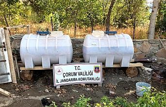 Çorum'da 8 bin 840 litre sahte içki ele geçirildi