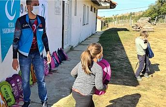 Çorum'dan Kuzey Makedonya'daki Türk öğrencilere...