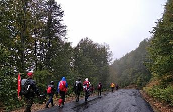 Doğa sporcuları şehit Arif Demirel'in anısına yürüdü
