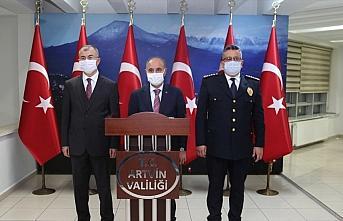 Emniyet Genel Müdürü Mehmet Aktaş'ın Artvin ziyareti