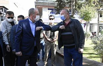 Eski CHP Milletvekili Muharrem İnce Gümüşhane'de