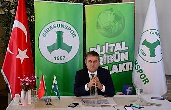Giresunspor Kulübü Başkanı Hakan Karaahmet: