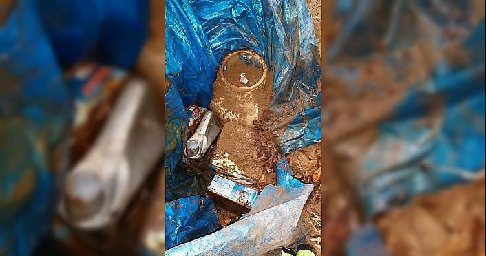 Gümüşhane'de terör örgütü PKK mensuplarınca kullanılan depo bulundu