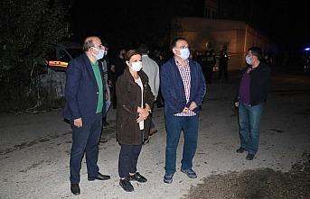Karabük'te geri dönüşüm deposunda çıkan yangın kontrol altına alındı