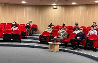 Karabük'te uluslararası öğrenci temsilcileriyle...