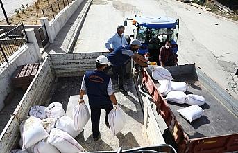 Keçiören Belediyesi'nden çiftçilere tohum desteği