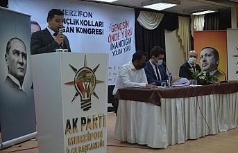 Merzifon'da AK Parti Gençlik Kolları Olağan Kongresi yapıldı