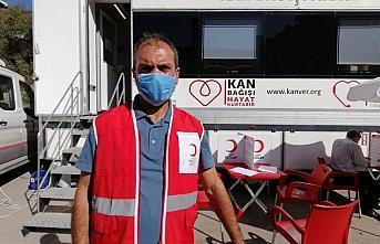 Oğuzlar'da kan bağış kampanyası
