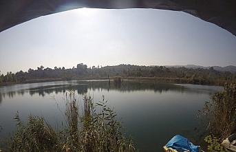 Ordu'daki Gaga Gölü'nde kilise kalıntılarına...