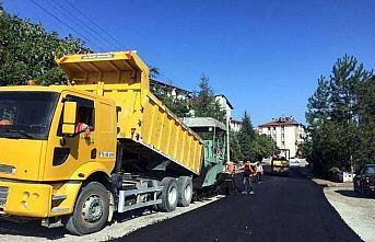 Safranbolu Belediyesi 17 bin 590 ton asfalt üretti