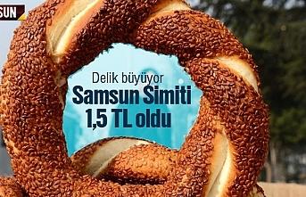 Samsun Simiti zamlandı, 1,5 Lira oldu