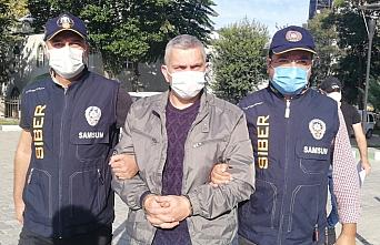 Samsun'da 48 yıl 5 ay hapis cezası bulunan firari...