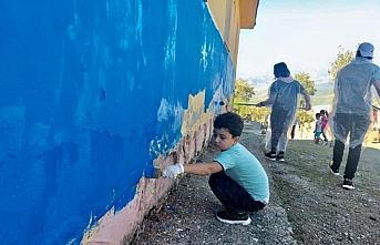 Samsun'da gönüllü gençler
