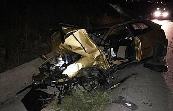 Samsun'da kullandığı otomobil şarampole devrilen polis memuru öldü