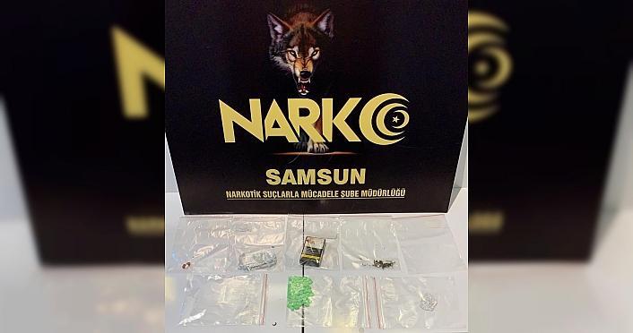 Samsun'da narkotik uygulamasında 14 kişi gözaltına alındı