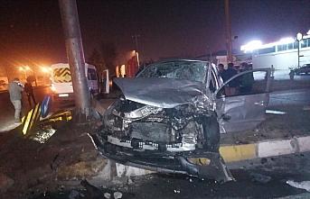 Samsun'da trafik kazaları: 5 yaralı