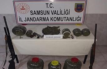 Samsun'da uyuşturucu operasyonlarında 19 kişi yakalandı