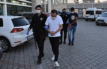 Samsun'da uyuşturucu operasyonunda 5 zanlı yakalandı