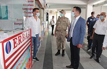 Taşova'da koronavirüs denetimleri yapıldı