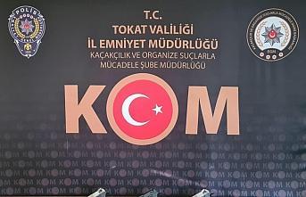 Tokat'ta silah kaçakçılığı operasyonu: 4 gözaltı