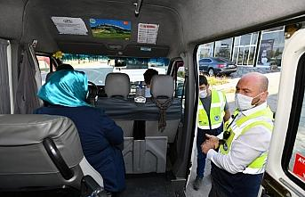 Trabzon'da koronavirüs tedbirleri ve trafik denetimleri...