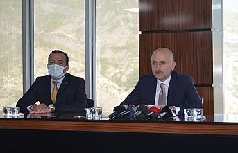Ulaştırma ve Altyapı Bakanı Adil Karaismailoğlu, Artvin'i ziyaret etti: