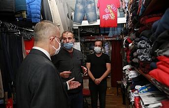 Vali Doruk, koronavirüs tedbirleri denetimine katıldı