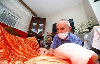 Yorgancı çift 60 yıldır aynı yastığa baş koyuyor