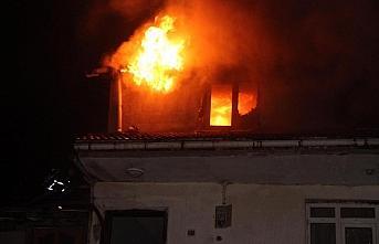 Zonguldak'ta ev yangını: 1 ölü, 4 yaralı